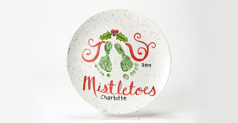 Mistletoes Plate
