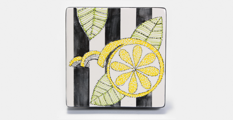 Lemon Slice Canvas