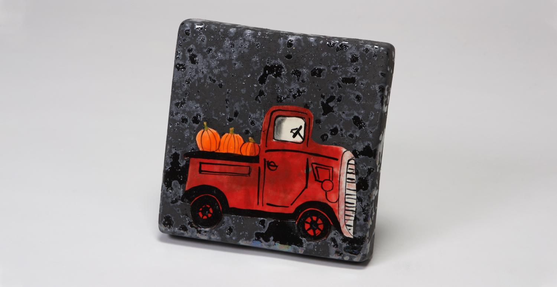Pickup Truck Canvas