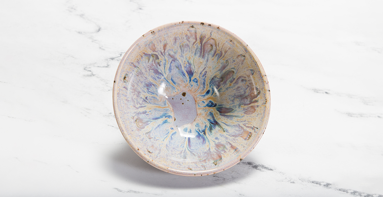 Sandstone & Lavender Mist Bowl